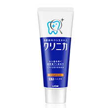 日本LION 狮王酵素除牙垢牙膏(130g)黄管 清爽薄荷