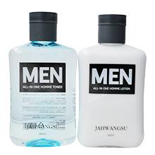 韩国 三星慈慌秀男士多效合一润肤水乳(350ml*2)