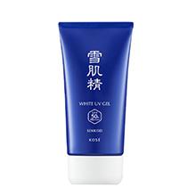 日本雪肌精 轻盈防晒啫喱/防晒霜SPF50+(80g)